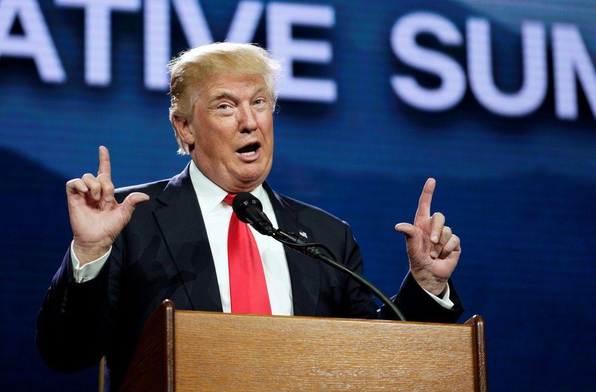 """Трамп не зміг блиснути знаннями імен глав ЄС, натомість розповів про дзвінок """"приємного хлопця"""" по ту сторону Атлантики"""