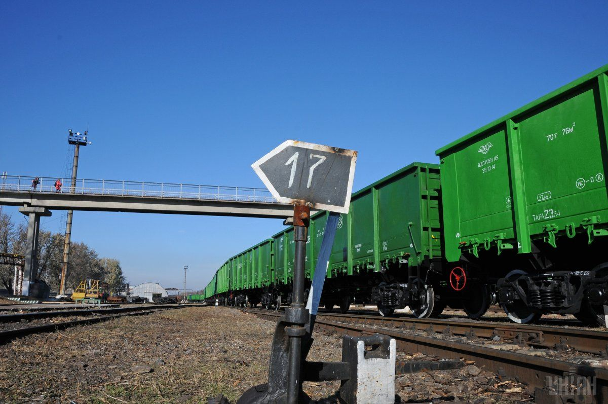 72 rail wagons en route from Ukraine to Kazakhstan and Kyrgyzstan were detained in Russia / Photo from UNIAN