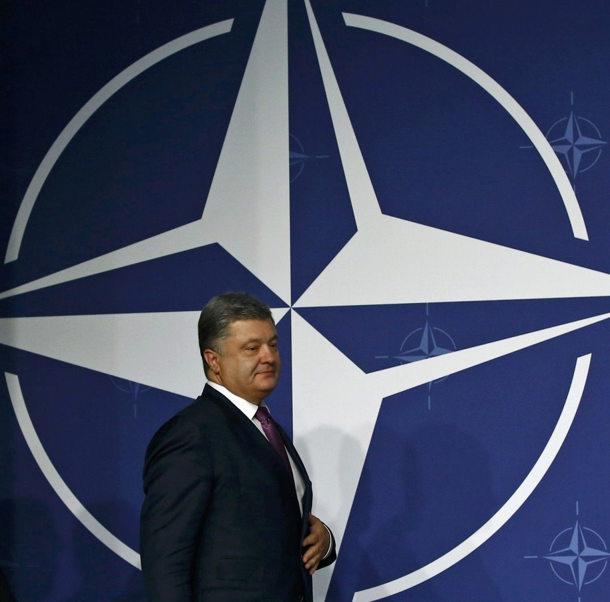 Петро Порошенко на саміті НАТО у липні / REUTERS