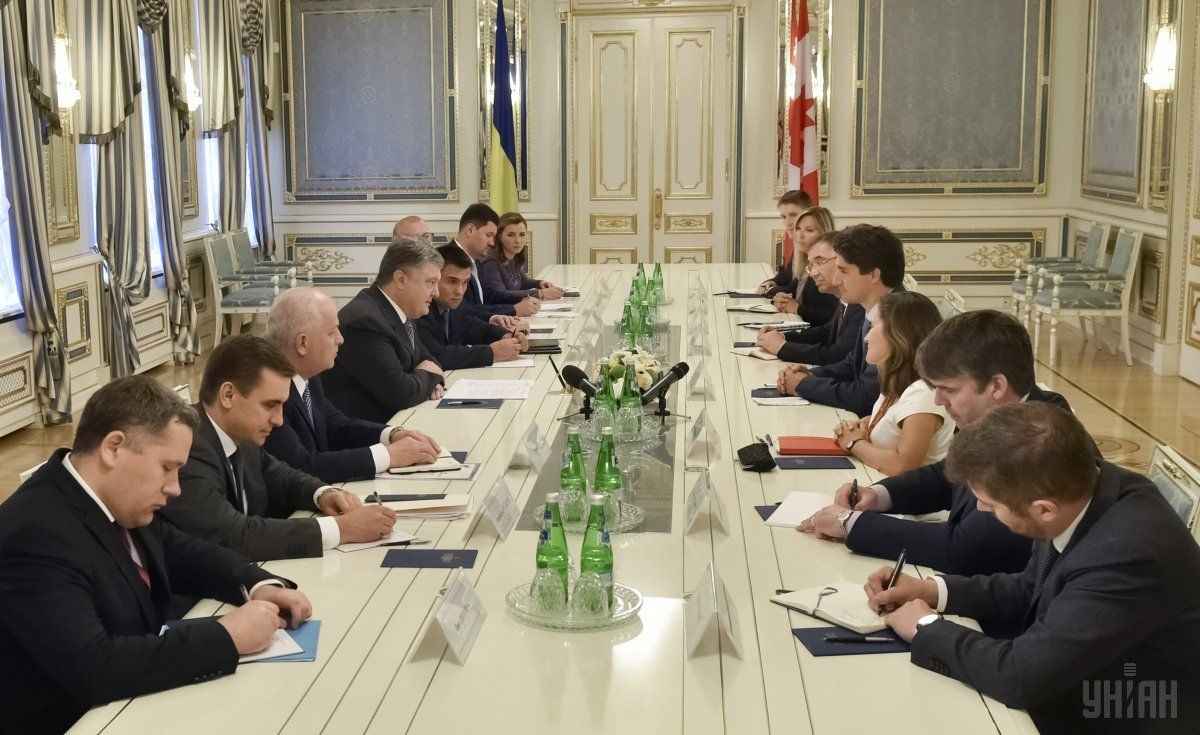 Canada's PM has arrived in Ukraine on a two-day visit / Photo from UNIAN