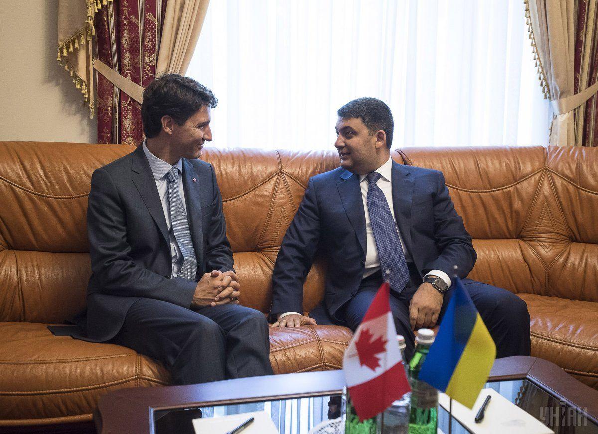 Украина иКанада подписали соглашение озоне свободной торговли