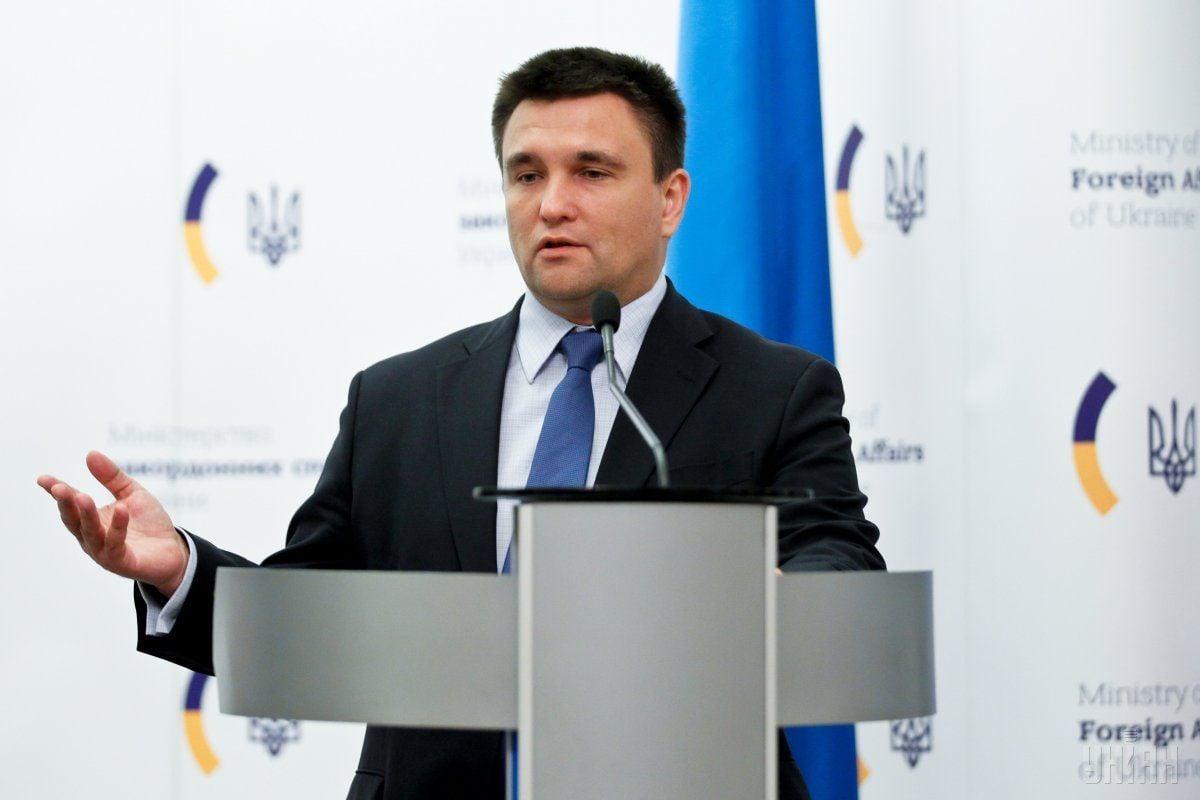Клімкін розповів про ризики, які можуть виникнути в разі запровадження візового режиму з РФ / фото: УНИАН