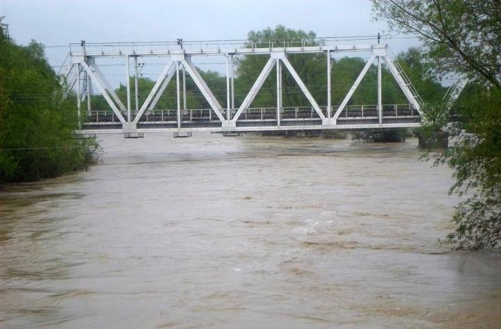 Підйом води на Дністрі / Фото uapress.info