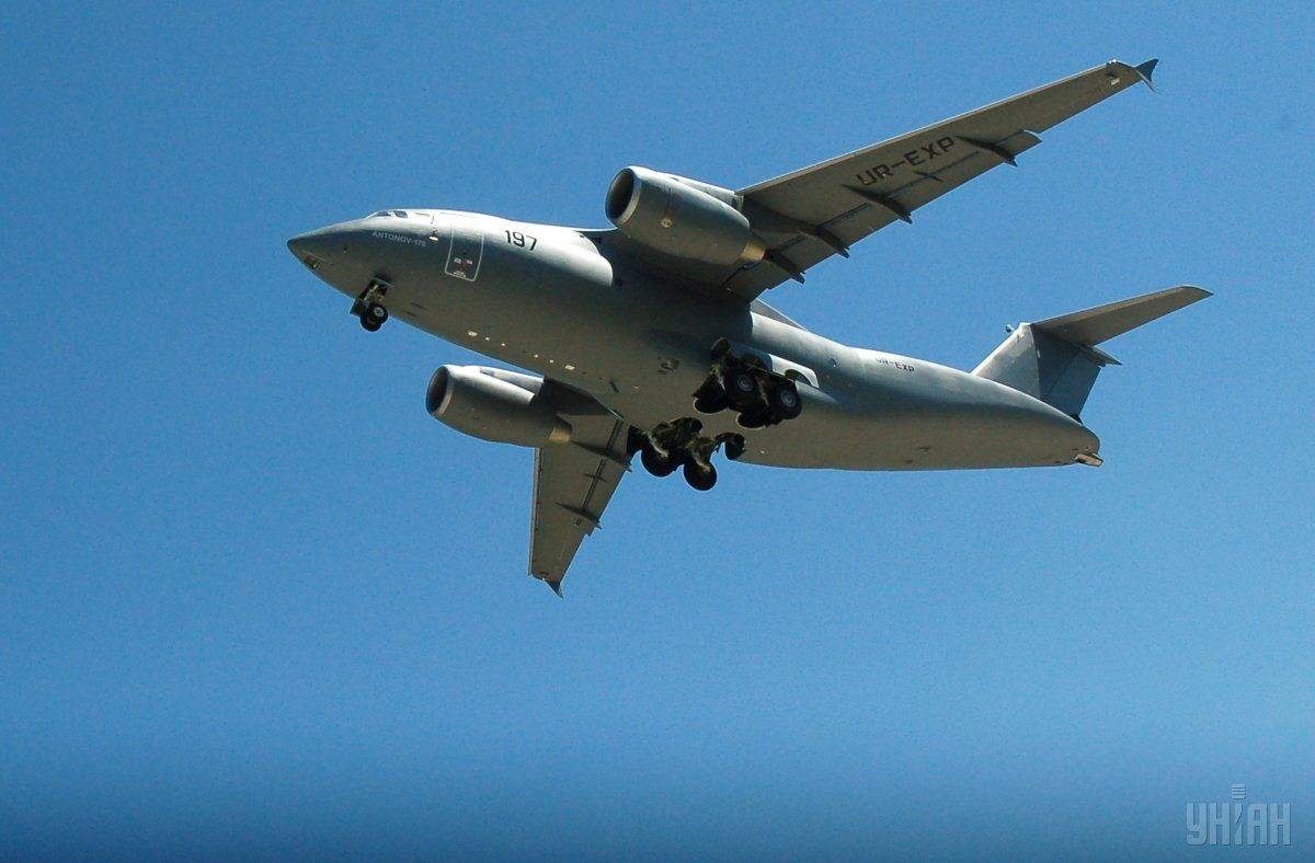 Ukraine showcased its An-178 at the Farnborough International Airshow / Photo from UNIAN