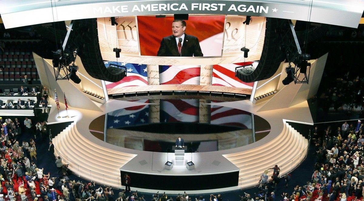 Скандал на съезде республиканцев: уступивший Трампу сенатор Круз не поддержал его