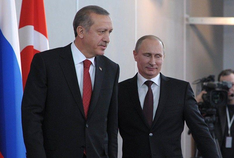 За даними газети, домовленість була досягнута в ході зустрічі Ердогана і Путіна / sputnik.kg