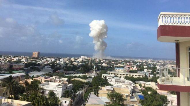 Восемь человек погибли при взрыве встолице Сомали