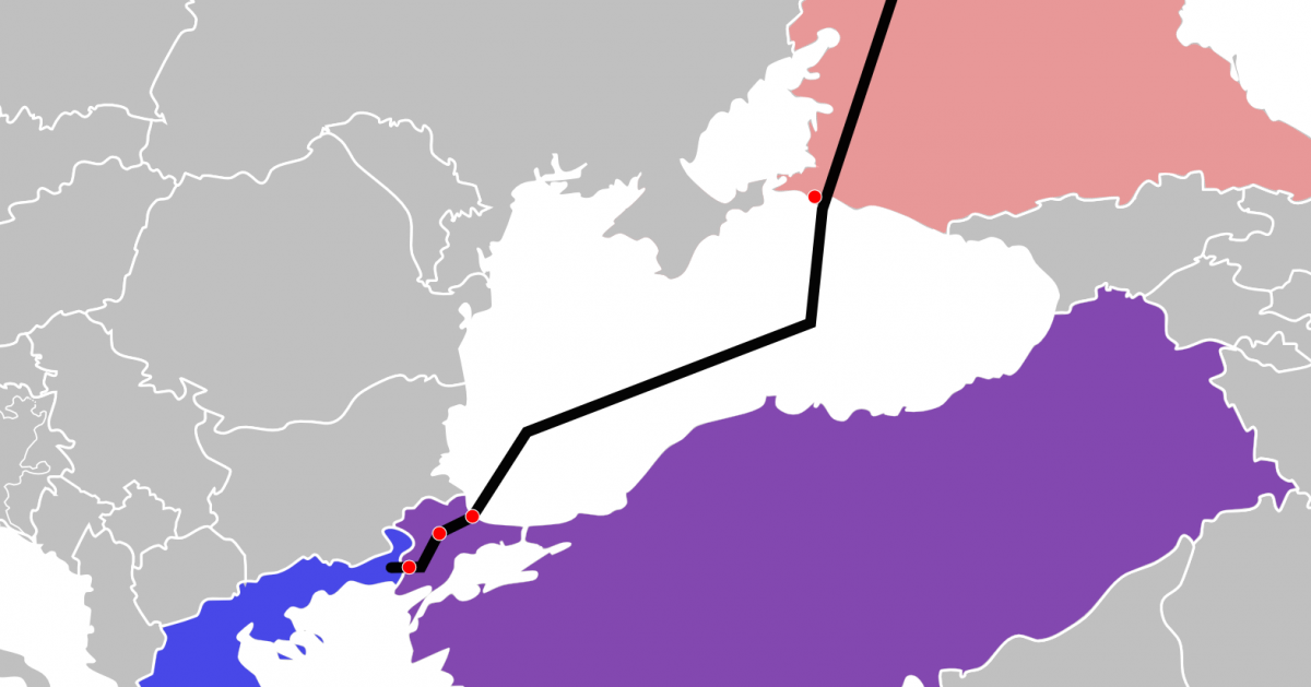 """""""Turkish stream"""" is used by Russia as a factor of political pressure / Photo en.wikipedia.org"""