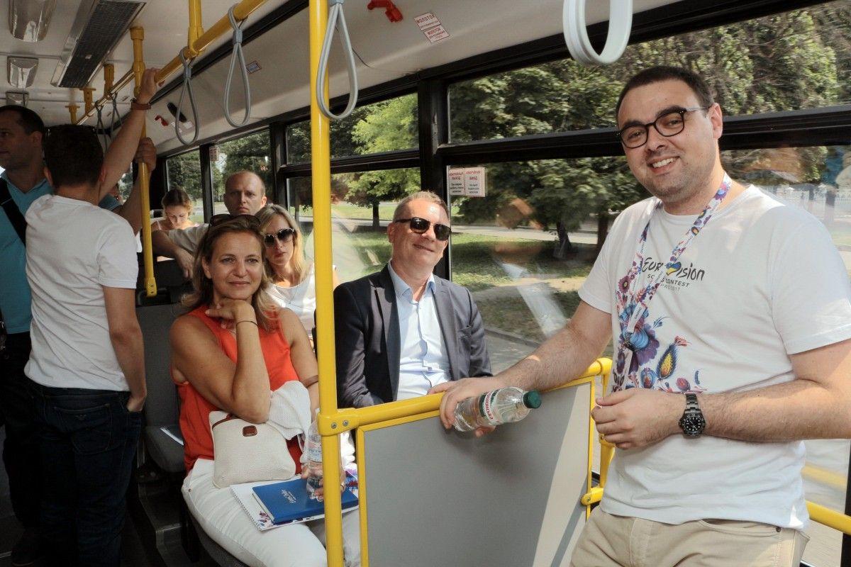 Делегація оцінювала готовність Дніпра приймати Євробачення