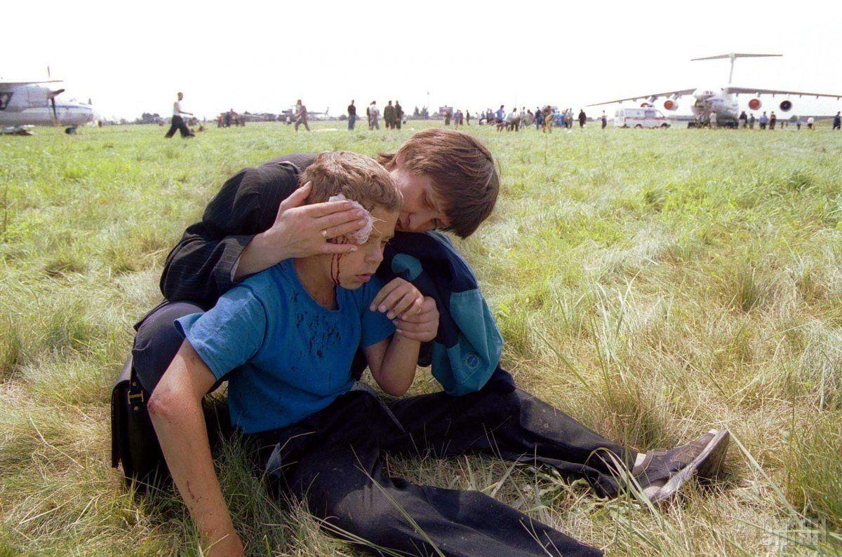 В результате катастрофы погибло много детей / УНИАН