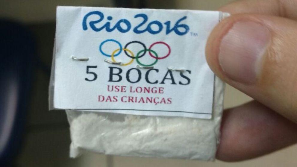 Бразильские наркоторговцы нередко используют спортивную символику для продвижения своего