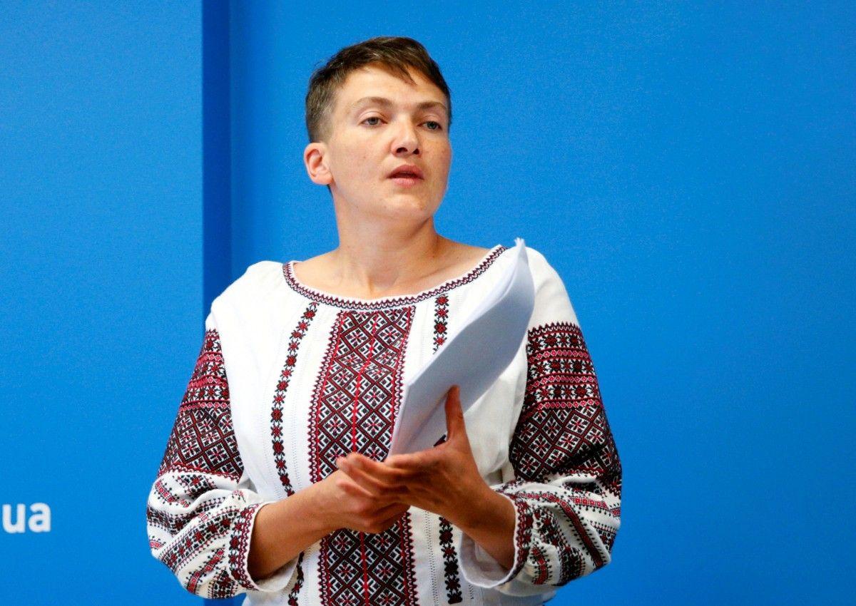 Народний депутат України, член ПАРЄ Надія Савченко  / REUTERS