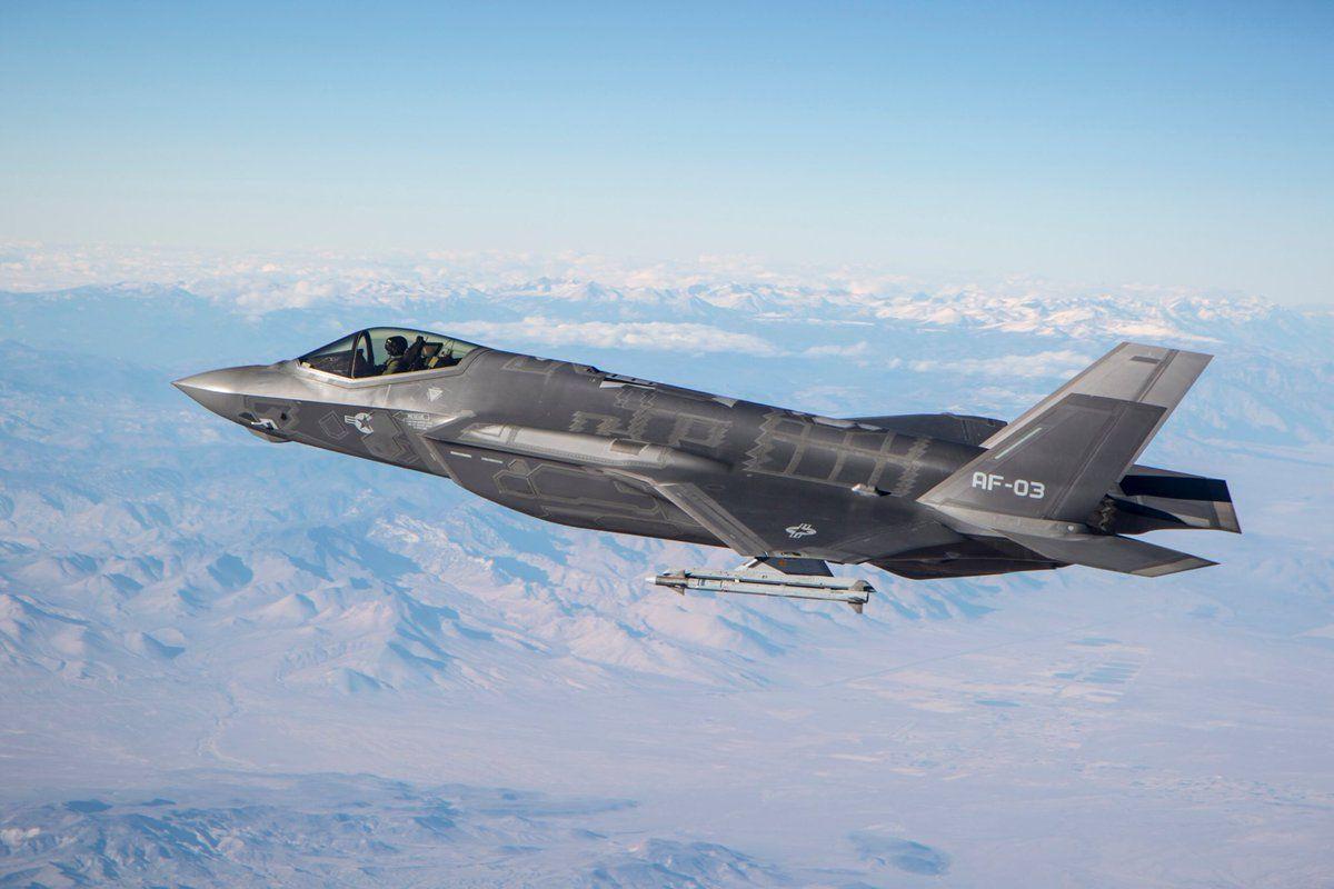 истребитель / twitter.com/USAF_ACC