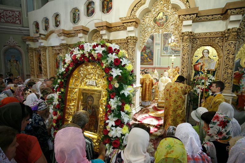 Икона будет находиться в Выдубицком монастыре до 10 августа
