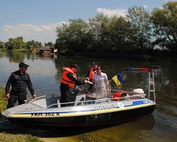 ВКиевской области заработала водная патрульная милиция