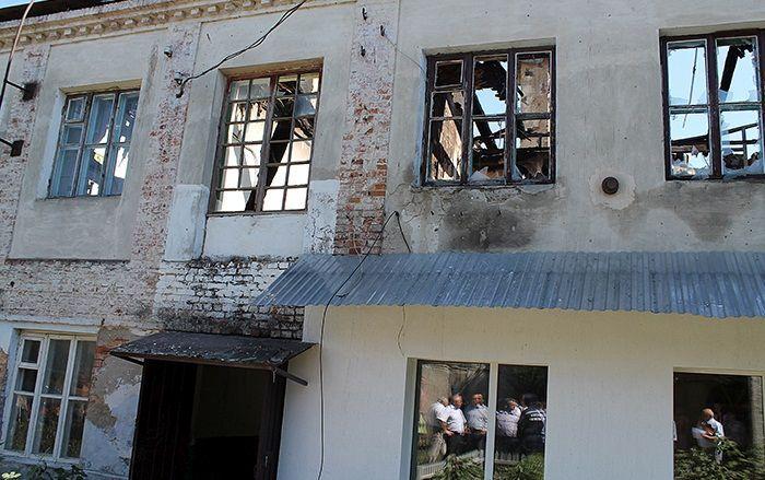 ВВиннице горел дом, вкотором проживали 9 семей