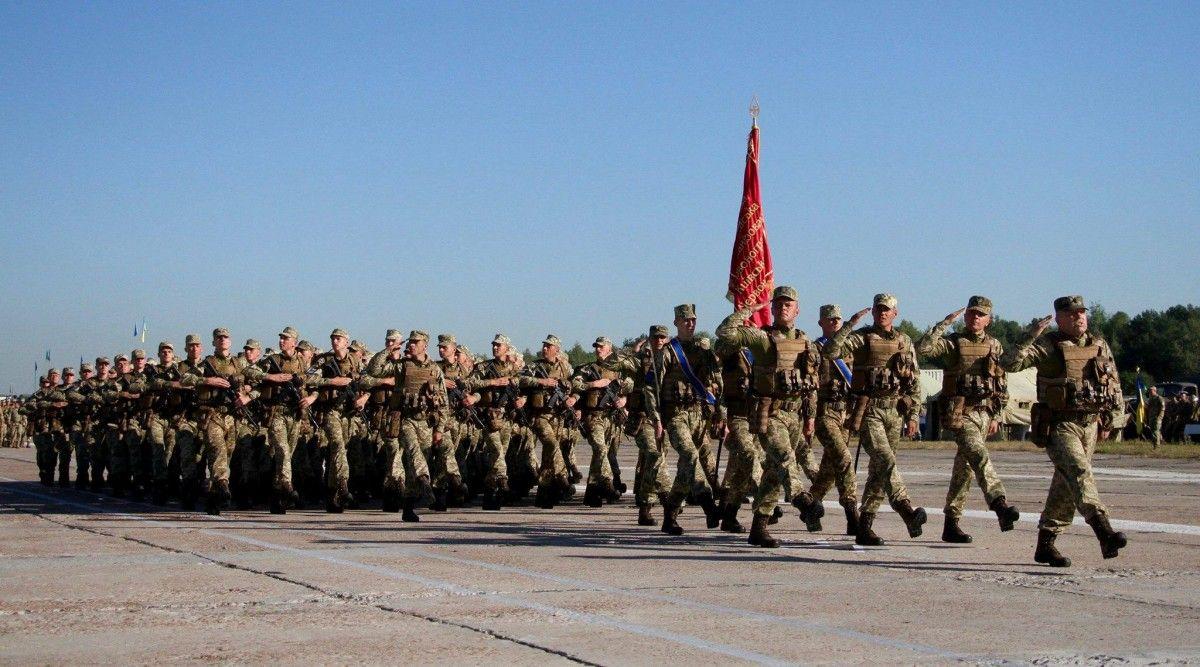 9 августа украинские военные провели очередную репетицию парада ко Дню Независимости. / facebook.com/GeneralStaff.ua
