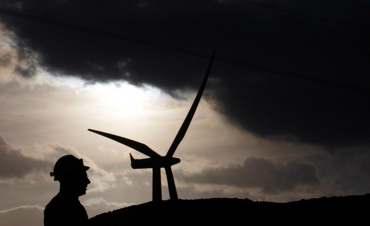Шторм подарил Шотландии электричество