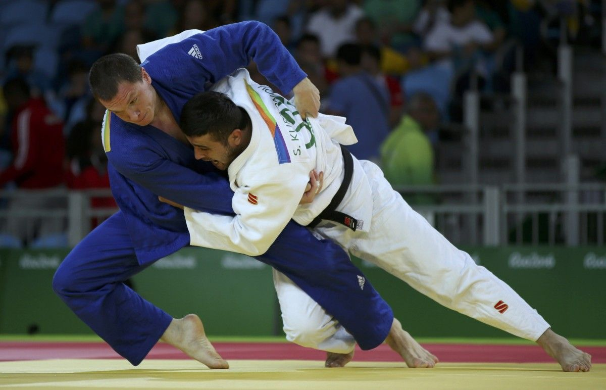 Эльмар Гасымов против чеха вфинале Олимпиады