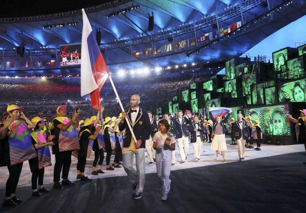 ВОКР назвали виновных всрыве русского флага волимпийской деревне