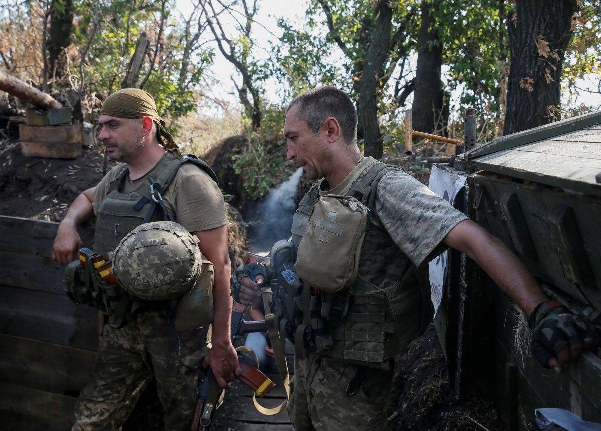 Боевики засутки 30 раз открывали огонь поукраинским позициям наДонбассе