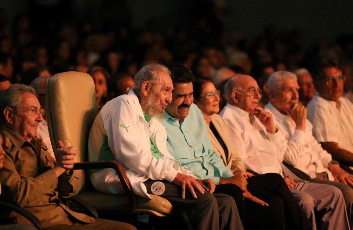 Фідель Кастро поруч із Ніколасом Мадуро / REUTERS