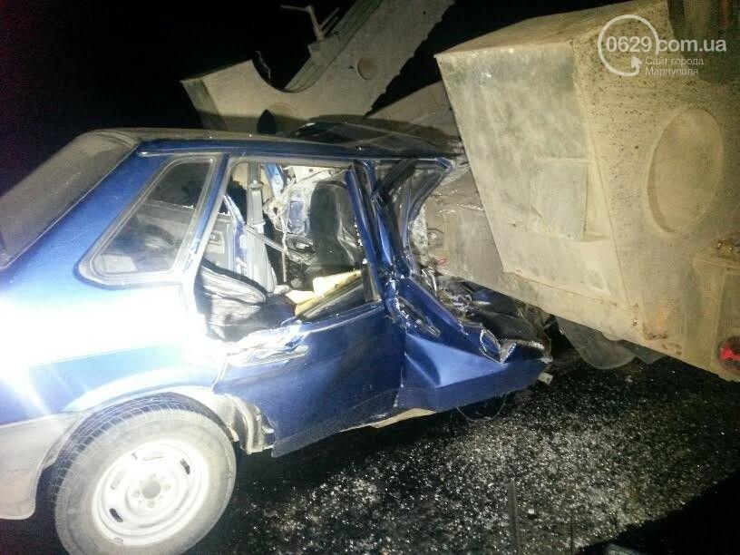 ДТП под Мариуполем: погибла молодая женщина