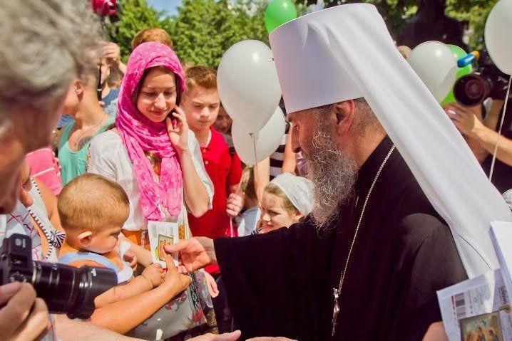 57 архиереев приехали поздравить Блаженнейшего Онуфрия сгодовщиной интронизации