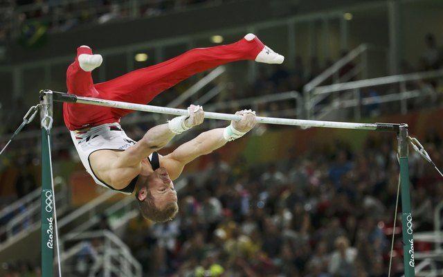 Рио-2016. Хамбюхен одержал победу золото вупражнениях наперекладине