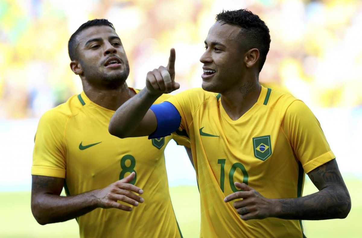 Рио-2016. Вфинале футбольного турнира сыграют Бразилия иГермания