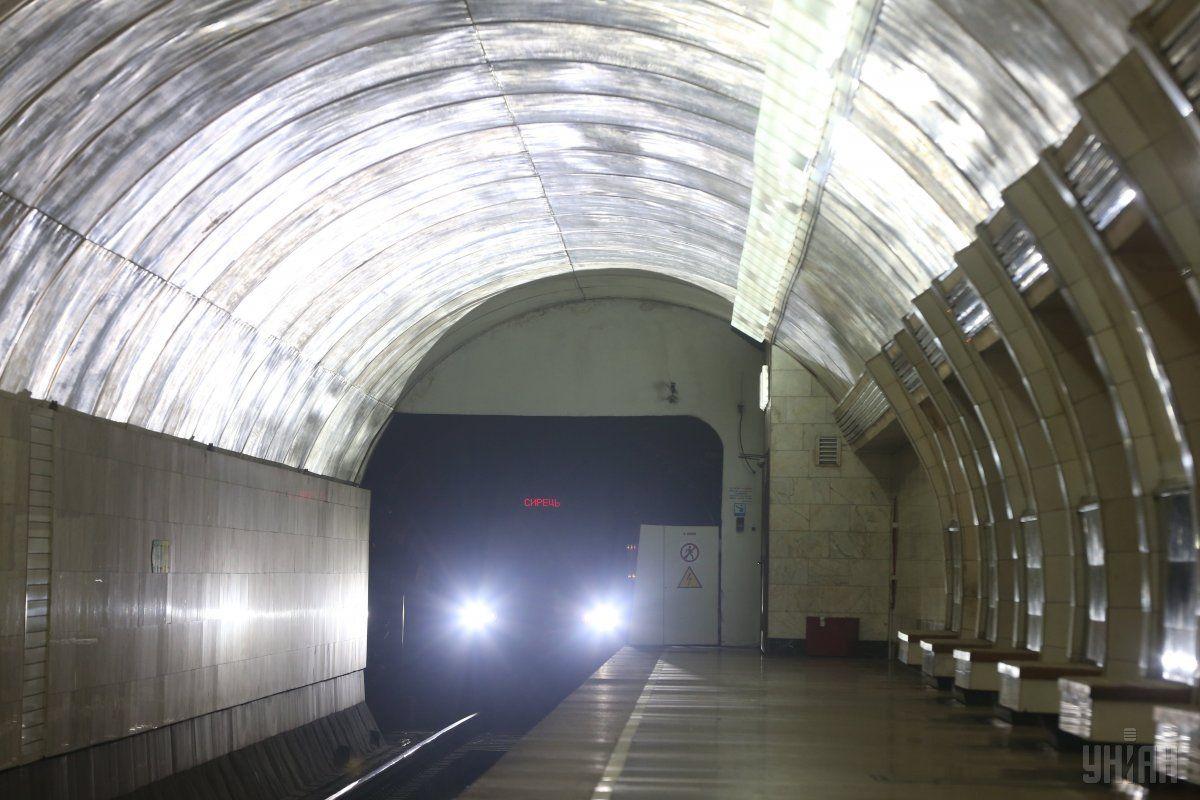 В киевском метро подстрелили полицейского / УНИАН