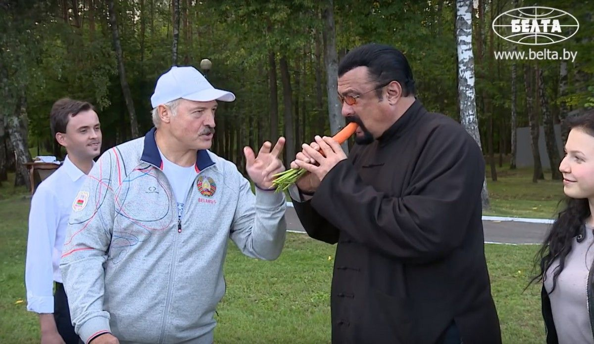 ВМинск прибыл Стивен Сигал