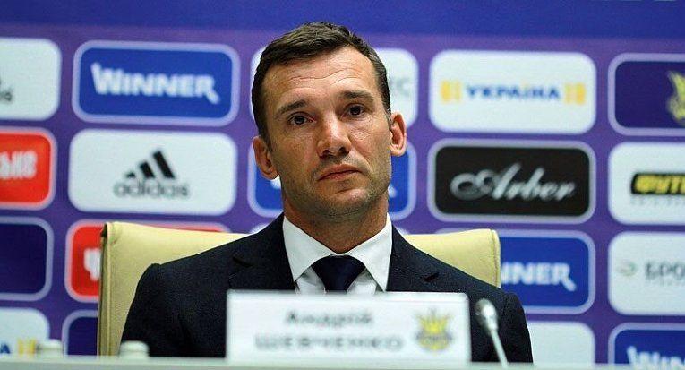 Шевченко объявил состав сборной Украины на матч против Исландии