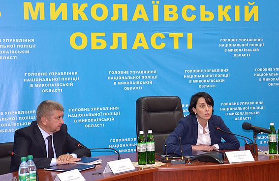 Будет изменен руководящий состав полиции Николаевской области/ mk.npu.gov.ua