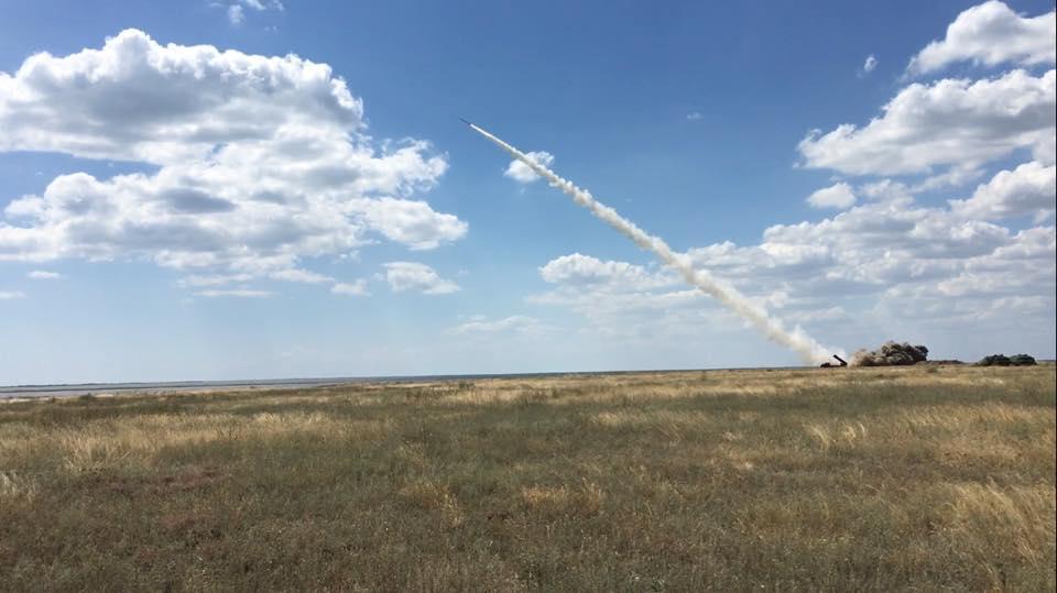 ракета, Турчинов / facebook.com/yuri.biriukov