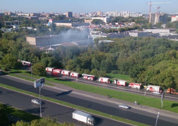 пожар, Москва / instagram.com/breaker177/