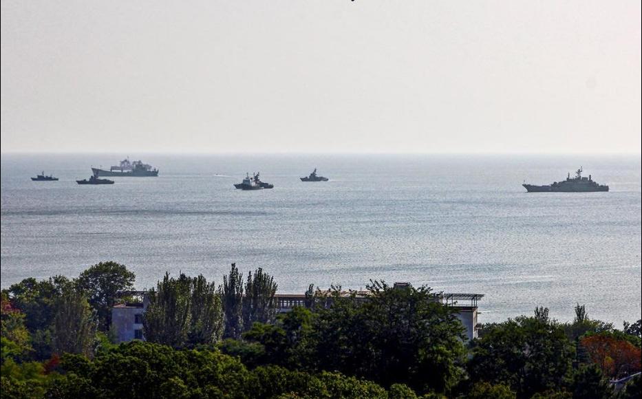 Кораблі в окупованому Криму / twitter.com/CrimeaUA1