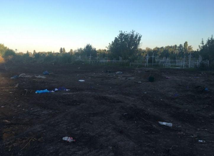 Милиция Киевской области нашла вколодце хранилище человеческих останков