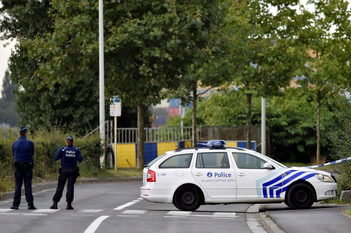 Полиция Брюсселя / REUTERS