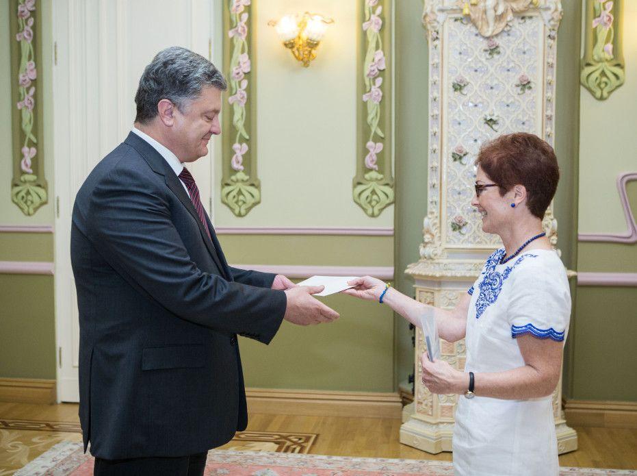 Порошенко прийняв вірчі грамоти від посла США / president.gov.ua