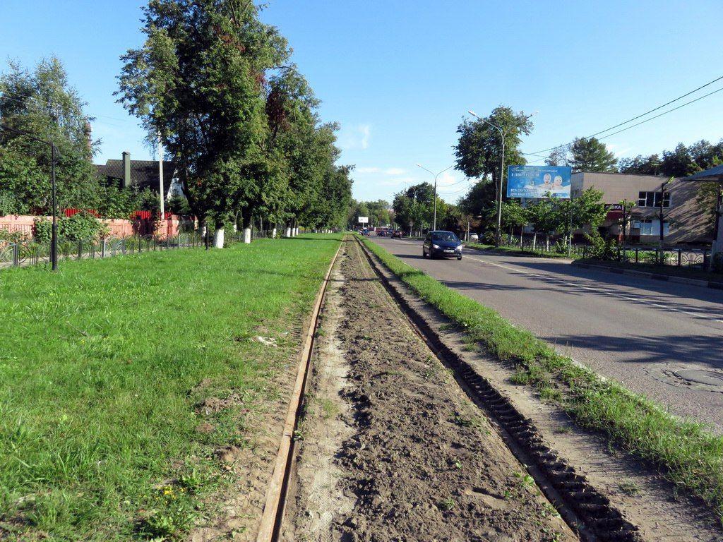 Трамвай 7 маршрута сошёл срельсов врайоне Сахарного завода