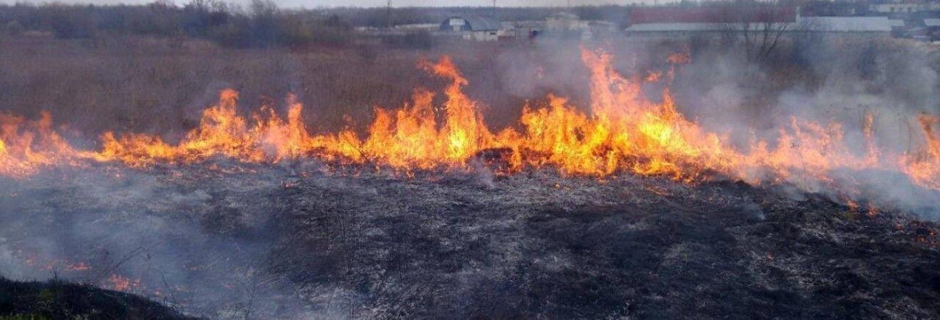 В центре Украины ожидается чрезвычайная пожарная опасность