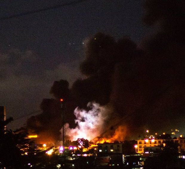 Беспорядки вГабоне: демонстранты подожгли строение парламента