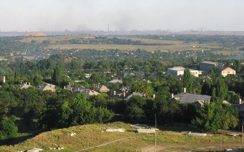 В Кадіївці бойовики затримали російського військового / panoramio.com/user/2913851