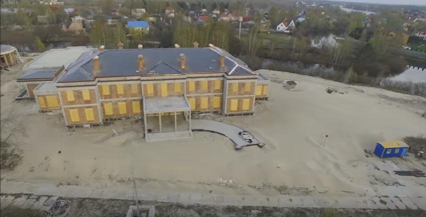 Впроцессе войны Левочкин достраивает дворец вКонча-Заспе— депутат