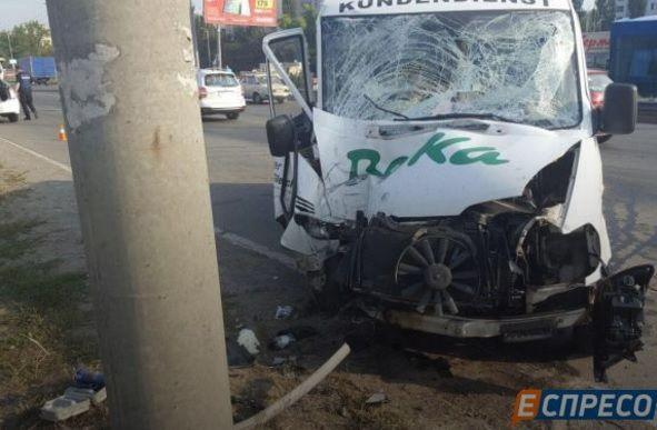 Водій отримав важкі травми / Фото espreso.tv