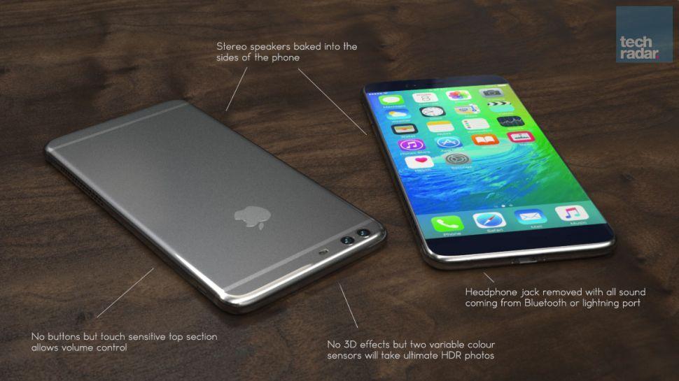 Возможный дизайн смартфона / techradar.com