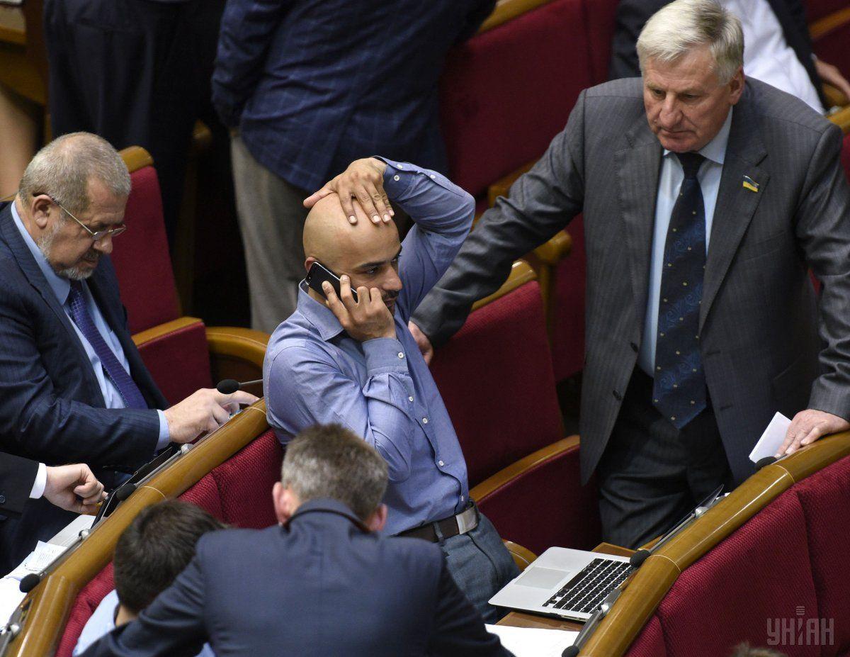 Парубий объявил оботзыве Найема споста замглавы фракции БПП