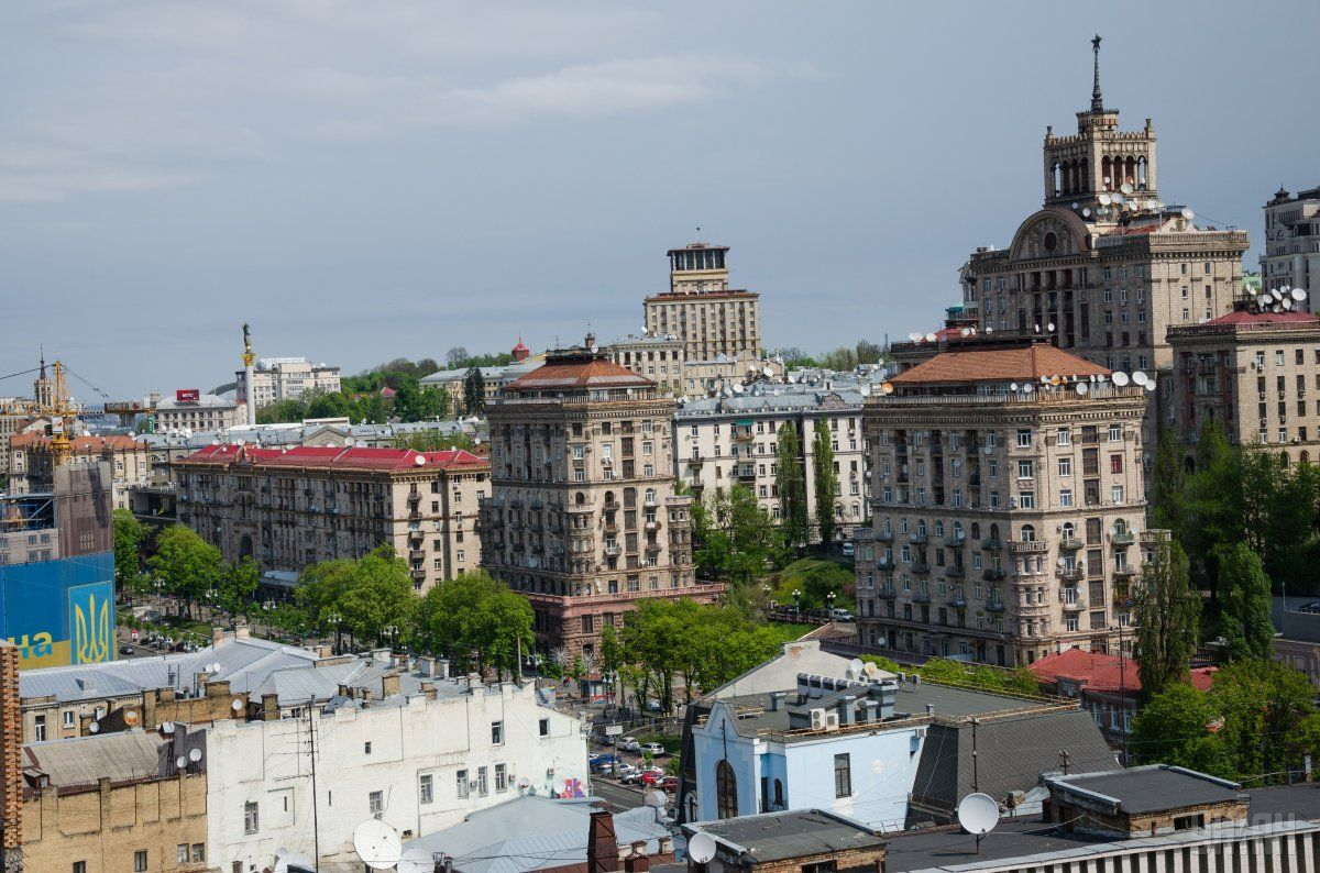 At the same time, Fitch says, Kyiv remains one of the country's wealthiest cities / Photo from UNIAN