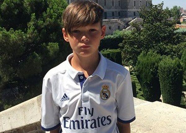 11-летний украинец стал футболистом «Реала»